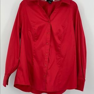 Lane Bryant Button Down Top. Sz.20